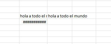 Introducir datos en Excel